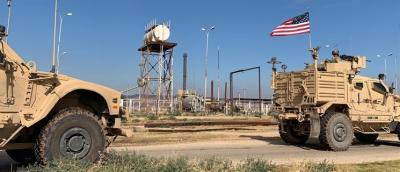 قوات الاحتلال الأمريكي تُدخل عشرات الصهاريج الفارغة إلى سورية لسرقة النفط السوري