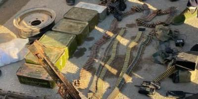 وحدات الجيش تعثر على أسلحة وذخائر لفلول إرهابيي داعش