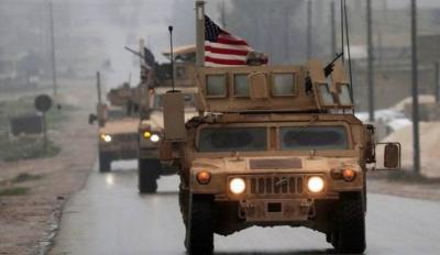 وصول قافلة عسكرية أمريكية  ضخمة إلى الحسكة