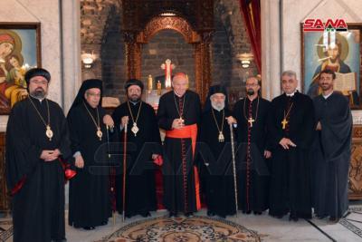 الكاردينال شونبورن: سورية بلد التاريخ والمقدسات