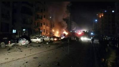 قتلى وجرحى بانفجار مستودع ذخيرة في إدلب