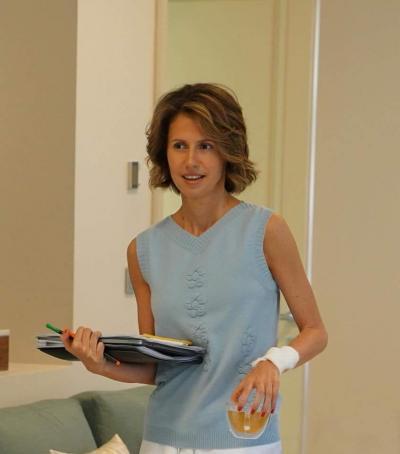 كيف علّقت الصحافة العالمية على مرض السيدة الأولى  أسماء الأسد