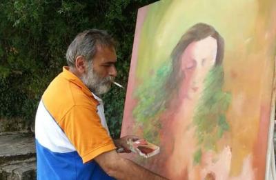الفنان التشكيلي محمود الضاهر .. الفن في سورية لا يلقى اهتماماً إلا في الخطابات الخشبية