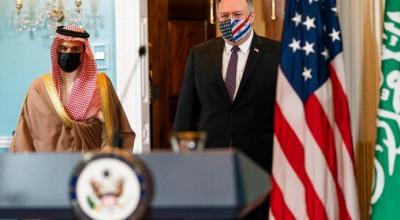 وزير الخارجية الأمريكي يأمل أن تدرس السعودية تطبيع العلاقات مع الكيان الإسرائيلي