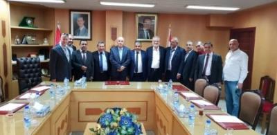 دمشق تستقبل وفدا أردنيا لترتيب استئناف النقل البري