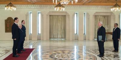 الرئيس الأسد يتقبل أوراق اعتماد راشد كمال سفيرا لباكستان لدى سورية