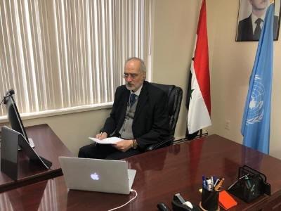 الجعفري: دول غربية تواصل زعزعة استقرار عشرات الدول الأعضاء في المنظمة الدولية