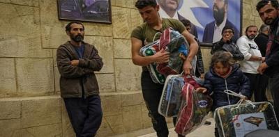 270 عائلة سورية غادرت خشية الأعمال الانتقامية في بشرّي اللبنانية